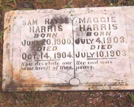 HARRIS, SAM HAYSE - Clark County, Arkansas | SAM HAYSE HARRIS - Arkansas Gravestone Photos