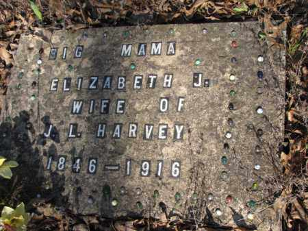 HARVEY, ELIZABETH J. - Clark County, Arkansas | ELIZABETH J. HARVEY - Arkansas Gravestone Photos