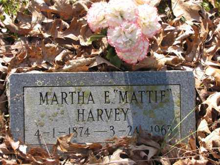 "HARVEY, MARTHA E. ""MATTIE"" - Clark County, Arkansas 