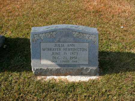 HERRINGTON, JULIA ANN - Clark County, Arkansas | JULIA ANN HERRINGTON - Arkansas Gravestone Photos