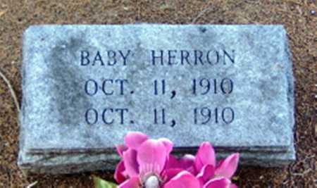 HERRON, BABY - Clark County, Arkansas | BABY HERRON - Arkansas Gravestone Photos