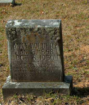 HOLDER, ANN F. - Clark County, Arkansas | ANN F. HOLDER - Arkansas Gravestone Photos