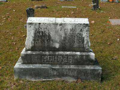 HOLDER, CADDO ELIZA ANN - Clark County, Arkansas | CADDO ELIZA ANN HOLDER - Arkansas Gravestone Photos