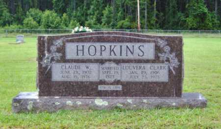 HOPKINS, CLAUDE W. - Clark County, Arkansas | CLAUDE W. HOPKINS - Arkansas Gravestone Photos