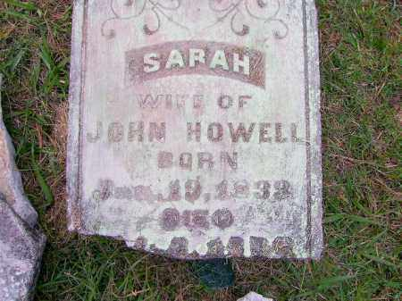 HOWELL, SARAH - Clark County, Arkansas | SARAH HOWELL - Arkansas Gravestone Photos