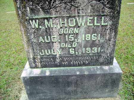 HOWELL, WILLIAM MACK - Clark County, Arkansas | WILLIAM MACK HOWELL - Arkansas Gravestone Photos