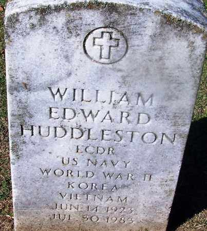 HUDDLESTON (VETERAN 3 WARS), WILLIAM EDWARD - Clark County, Arkansas | WILLIAM EDWARD HUDDLESTON (VETERAN 3 WARS) - Arkansas Gravestone Photos