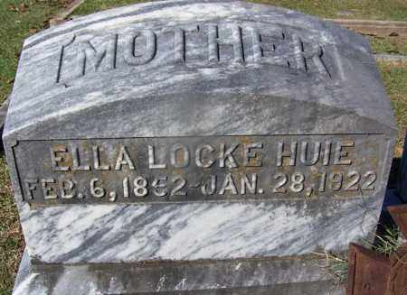 HUIE, ELLA - Clark County, Arkansas | ELLA HUIE - Arkansas Gravestone Photos