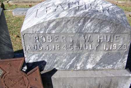 HUIE (VETERAN CSA), ROBERT W - Clark County, Arkansas   ROBERT W HUIE (VETERAN CSA) - Arkansas Gravestone Photos