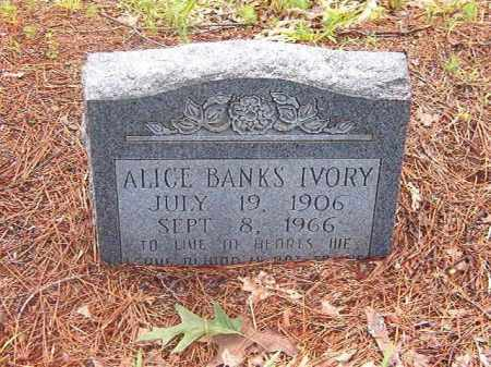 IVORY, ALICE - Clark County, Arkansas | ALICE IVORY - Arkansas Gravestone Photos
