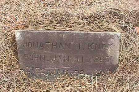 KNOX, JONATHAN I. - Clark County, Arkansas   JONATHAN I. KNOX - Arkansas Gravestone Photos