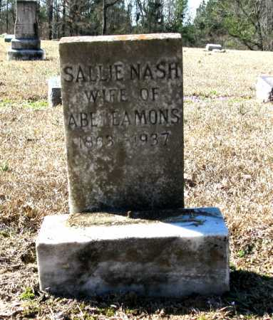 LEAMONS, SALLIE - Clark County, Arkansas | SALLIE LEAMONS - Arkansas Gravestone Photos