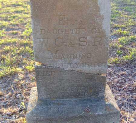MANNING, EDNA - Clark County, Arkansas   EDNA MANNING - Arkansas Gravestone Photos