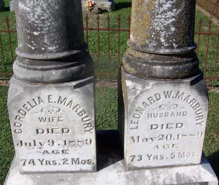 MARBURY (VETERAN CSA), LEONARD W. - Clark County, Arkansas | LEONARD W. MARBURY (VETERAN CSA) - Arkansas Gravestone Photos