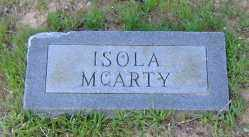 MCARTY, ISOLA - Clark County, Arkansas | ISOLA MCARTY - Arkansas Gravestone Photos