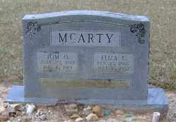 MCARTY, ELIZA E. - Clark County, Arkansas | ELIZA E. MCARTY - Arkansas Gravestone Photos