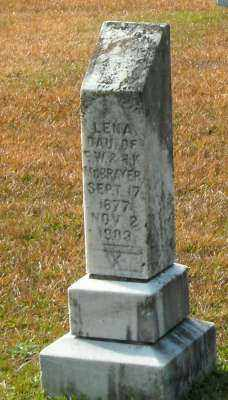 MCBRAYER, LENA - Clark County, Arkansas | LENA MCBRAYER - Arkansas Gravestone Photos