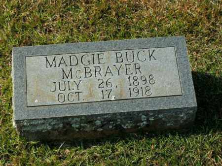MCBRAYER, MADGIE BUCK - Clark County, Arkansas | MADGIE BUCK MCBRAYER - Arkansas Gravestone Photos