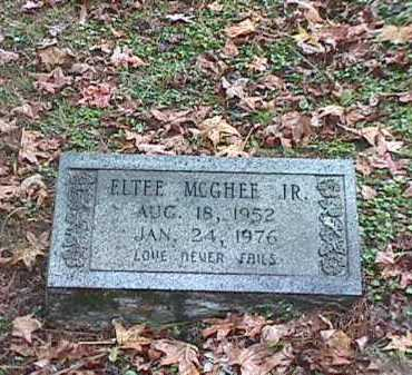 MCGHEE, JR, ELTEE - Clark County, Arkansas | ELTEE MCGHEE, JR - Arkansas Gravestone Photos