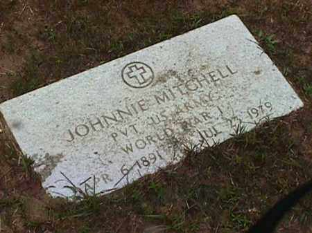 MITCHELL (VETERAN WWI), JOHNNIE - Clark County, Arkansas | JOHNNIE MITCHELL (VETERAN WWI) - Arkansas Gravestone Photos