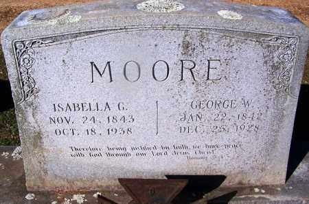 MOORE, GEORGE W. - Clark County, Arkansas | GEORGE W. MOORE - Arkansas Gravestone Photos