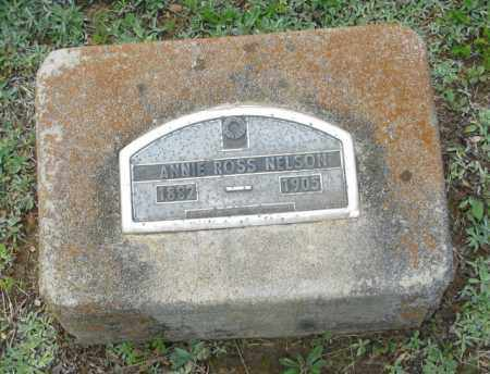 ROSS NELSON, ANNIE - Clark County, Arkansas | ANNIE ROSS NELSON - Arkansas Gravestone Photos