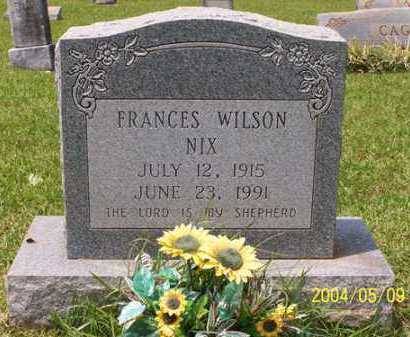 NIX, FRANCES - Clark County, Arkansas | FRANCES NIX - Arkansas Gravestone Photos