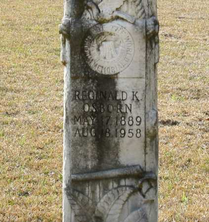OSBORN, REGINALD K. (CLOSE UP) - Clark County, Arkansas | REGINALD K. (CLOSE UP) OSBORN - Arkansas Gravestone Photos