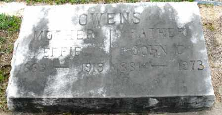 OWENS, JOHN C. - Clark County, Arkansas | JOHN C. OWENS - Arkansas Gravestone Photos