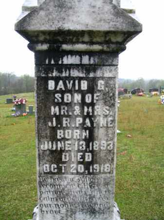 PAYNE, DAVID G. - Clark County, Arkansas | DAVID G. PAYNE - Arkansas Gravestone Photos