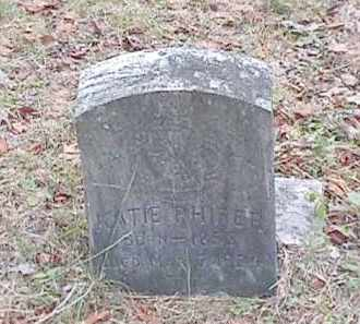 PHIFER, KATIE - Clark County, Arkansas | KATIE PHIFER - Arkansas Gravestone Photos