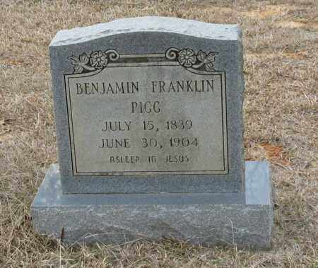 PIGG, BENJAMIN FRANKLIN - Clark County, Arkansas | BENJAMIN FRANKLIN PIGG - Arkansas Gravestone Photos