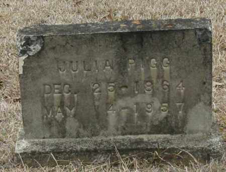 PIGG, JULIA - Clark County, Arkansas | JULIA PIGG - Arkansas Gravestone Photos