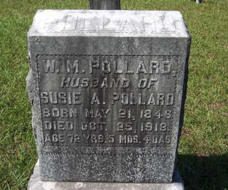POLLARD, W. M. - Clark County, Arkansas | W. M. POLLARD - Arkansas Gravestone Photos