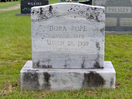 POPE, DORA - Clark County, Arkansas | DORA POPE - Arkansas Gravestone Photos