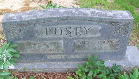 MEADOR POSEY, BILLIE JEAN - Clark County, Arkansas | BILLIE JEAN MEADOR POSEY - Arkansas Gravestone Photos