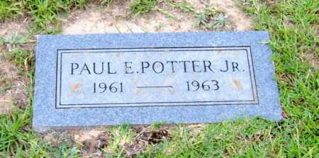 POTTER, JR, PAUL E - Clark County, Arkansas | PAUL E POTTER, JR - Arkansas Gravestone Photos