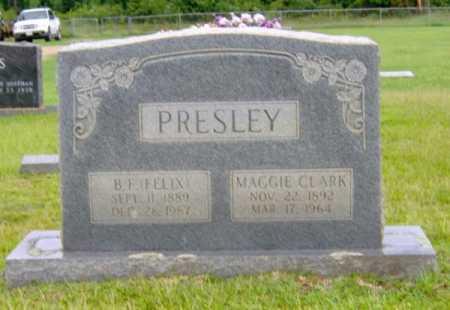 PRESLEY, B.F. (FELIX) - Clark County, Arkansas | B.F. (FELIX) PRESLEY - Arkansas Gravestone Photos