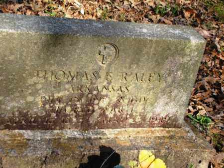 RALEY (VETERAN WWI), THOMAS ELBERT - Clark County, Arkansas | THOMAS ELBERT RALEY (VETERAN WWI) - Arkansas Gravestone Photos