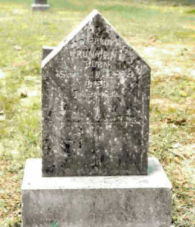 HOUSTON RUNYAN, MINERVIA HILLSMAN - Clark County, Arkansas | MINERVIA HILLSMAN HOUSTON RUNYAN - Arkansas Gravestone Photos