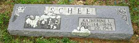 SCHEE, KATHERINE LILLIAN - Clark County, Arkansas | KATHERINE LILLIAN SCHEE - Arkansas Gravestone Photos
