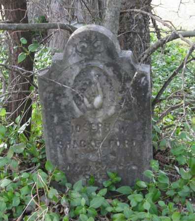 SHACKELFORD, JOSEPH W. - Clark County, Arkansas | JOSEPH W. SHACKELFORD - Arkansas Gravestone Photos