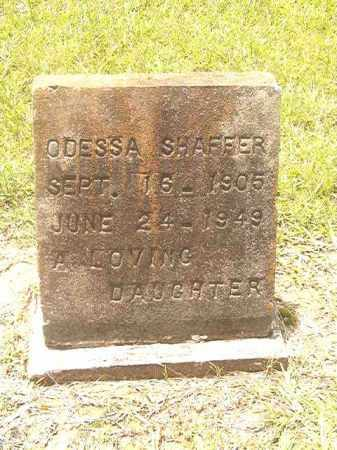 SHAFFER, ODESSA - Clark County, Arkansas | ODESSA SHAFFER - Arkansas Gravestone Photos