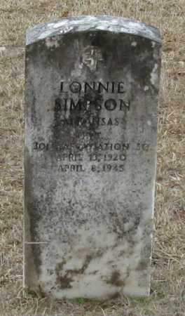 SIMPSON (VETERAN), LONNIE - Clark County, Arkansas | LONNIE SIMPSON (VETERAN) - Arkansas Gravestone Photos