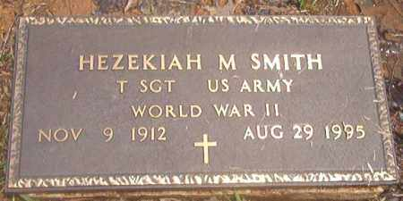 SMITH (VETERAN WWII), HEZEKIAH M - Clark County, Arkansas | HEZEKIAH M SMITH (VETERAN WWII) - Arkansas Gravestone Photos