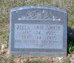 SMITH, ZELLA ANN - Clark County, Arkansas | ZELLA ANN SMITH - Arkansas Gravestone Photos