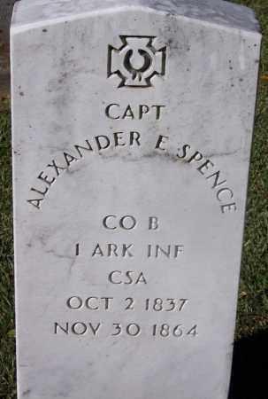 SPENCE (VETERAN CSA, KIA), ALEXANDER E. - Clark County, Arkansas | ALEXANDER E. SPENCE (VETERAN CSA, KIA) - Arkansas Gravestone Photos