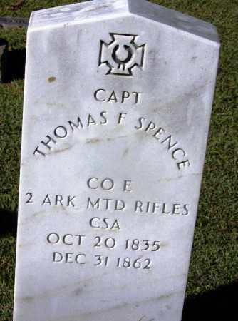 SPENCE (VETERAN CSA), THOMAS F - Clark County, Arkansas | THOMAS F SPENCE (VETERAN CSA) - Arkansas Gravestone Photos