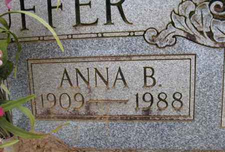 STAUFFER, ANNA B. (CLOSE UP) - Clark County, Arkansas | ANNA B. (CLOSE UP) STAUFFER - Arkansas Gravestone Photos