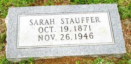 STAUFFER, SARAH - Clark County, Arkansas | SARAH STAUFFER - Arkansas Gravestone Photos